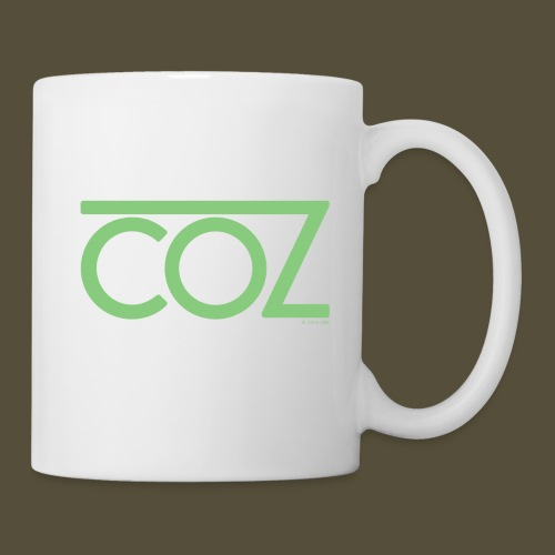 coz_logo_lightgreen - Coffee/Tea Mug