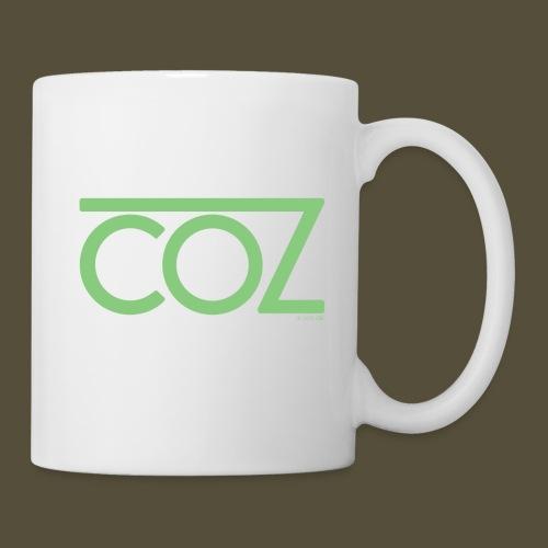 coz_logo_lightgreen - Coffee/Tea Mug