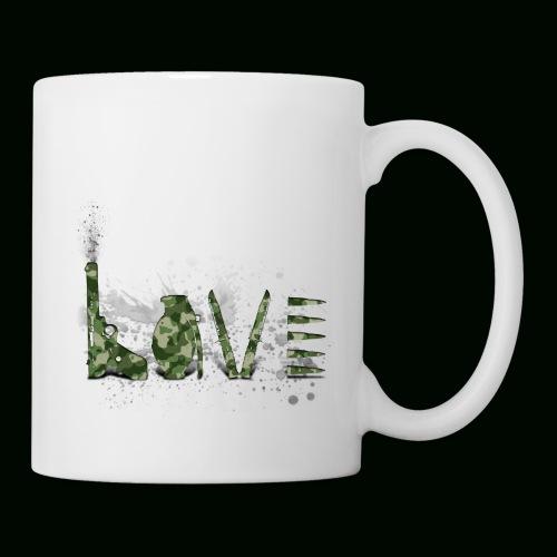 Love and War - Army - Coffee/Tea Mug