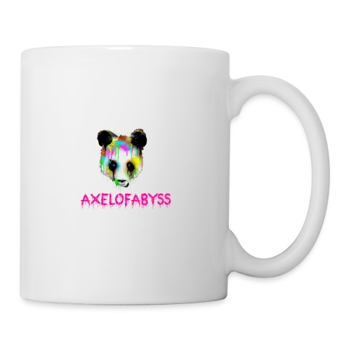 Axelofabyss panda panda paint - Coffee/Tea Mug