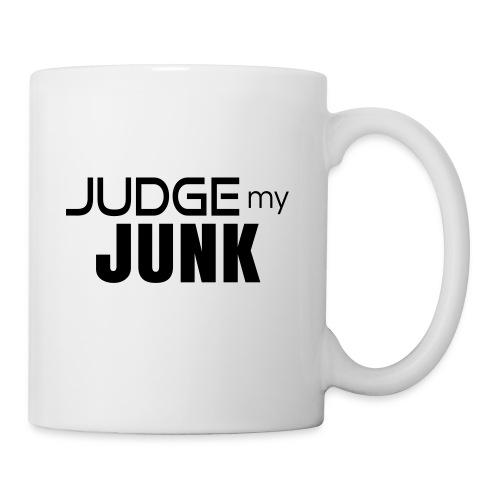 Judge my Junk Tshirt 03 - Coffee/Tea Mug
