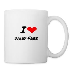 I LOVE DAIRY FREE - Coffee/Tea Mug