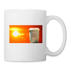 Good day coffee cup motivation message - Coffee/Tea Mug