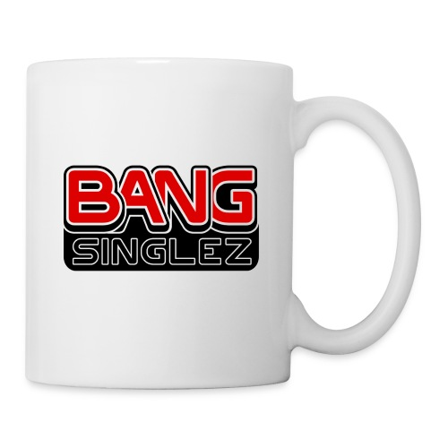Bang Singlez Logo Red&Black - Coffee/Tea Mug