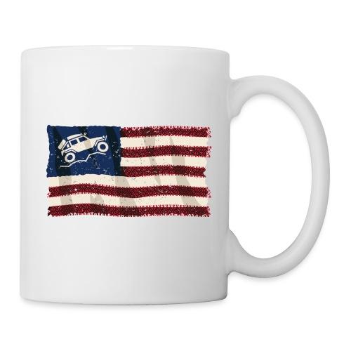 American Off Road 4x4 Overland Flag - Coffee/Tea Mug