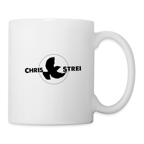 Chris Strei BlackBird Logo (black) - Coffee/Tea Mug