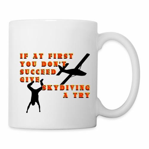 Try Skydiving - Coffee/Tea Mug