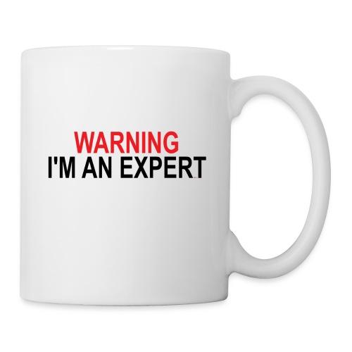Warning I'm an Expert - Coffee/Tea Mug