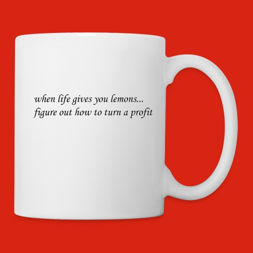 when life gives business man lemons - Coffee/Tea Mug