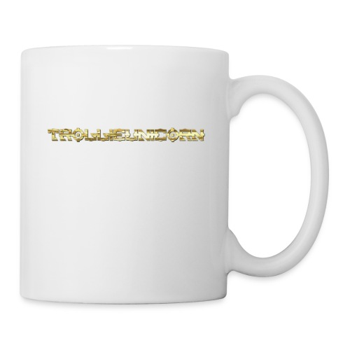 TROLLIEUNICORN gold text limited edition - Coffee/Tea Mug
