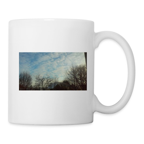 jersery winter sky - Coffee/Tea Mug