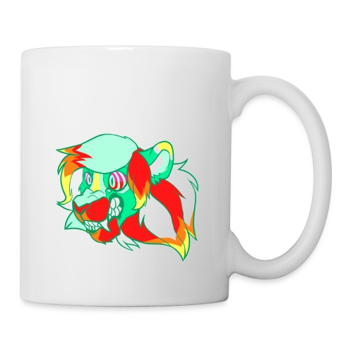 Psychedelic Lion - Coffee/Tea Mug