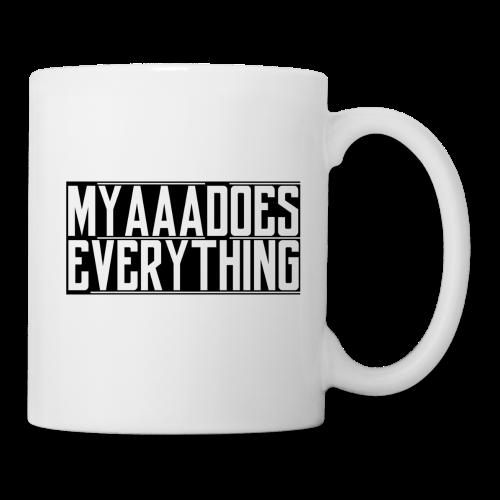 MyaaaDoesEverything (Black) - Coffee/Tea Mug