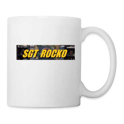 RockoWear Banner - Coffee/Tea Mug