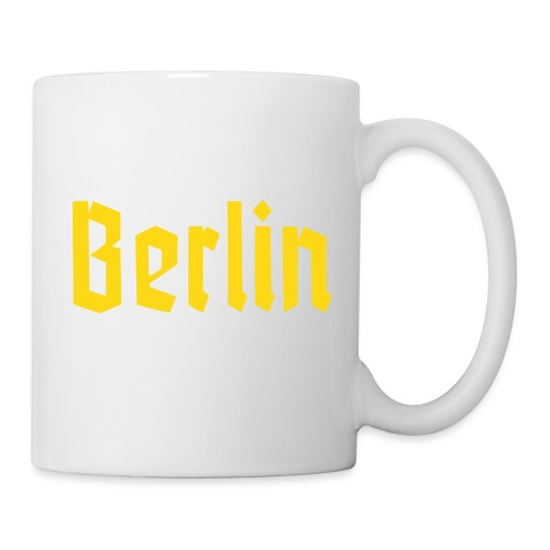 BERLIN Fraktur Font - Coffee/Tea Mug