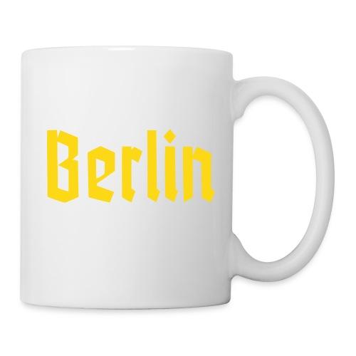 BERLIN Fraktur Font - Coffee/Tea Mug