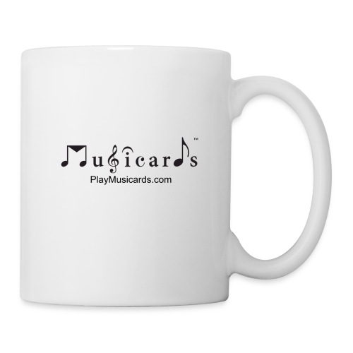 Musicards logo and website - Coffee/Tea Mug