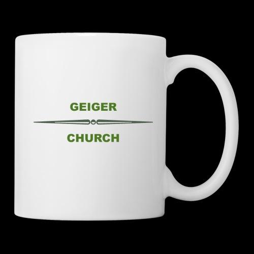 Geiger Military Shirt - Coffee/Tea Mug