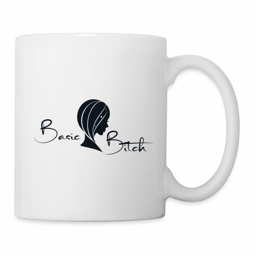 Basic Bitch Logo Navy - Coffee/Tea Mug