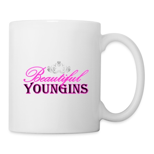 Beautiful Youngins Logo Transparent - Coffee/Tea Mug