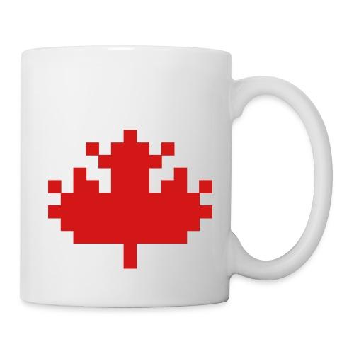 Pixel Maple Leaf - Coffee/Tea Mug