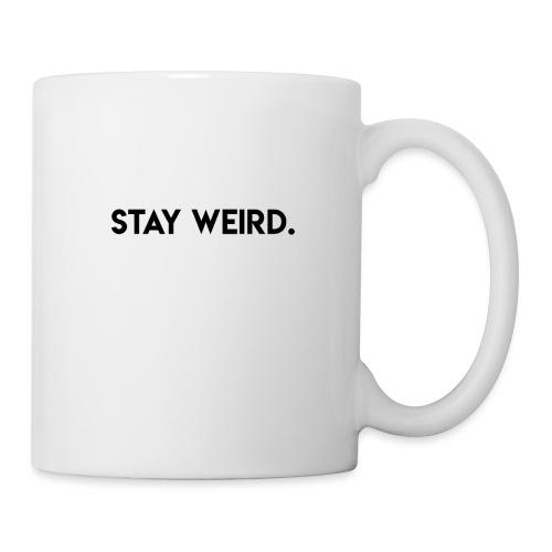 Triple G Stay Weird - Black Text - Coffee/Tea Mug