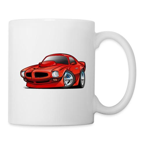 Classic Seventies American Muscle Car Cartoon - Coffee/Tea Mug