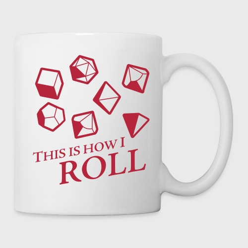 How I Roll Fantasy Dice - Coffee/Tea Mug