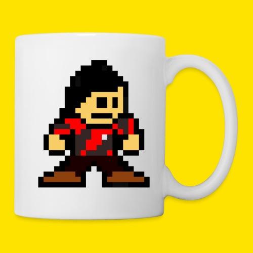 Kuna Mega Man Logo Unisex Tie-Die - Coffee/Tea Mug