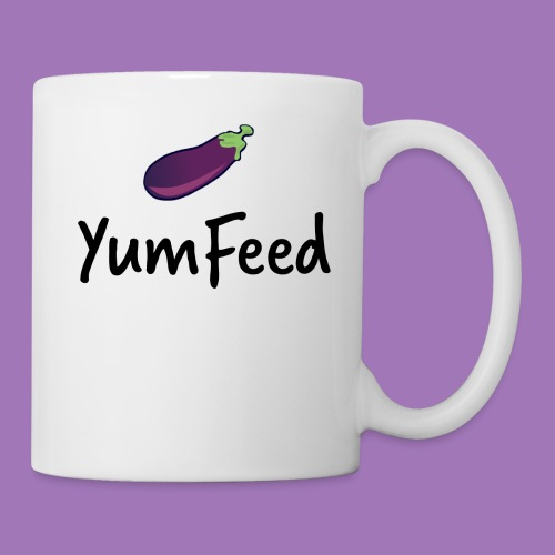 YumFeed logo - Coffee/Tea Mug