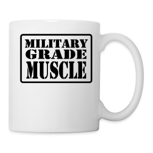 Military Grade Muscle Black - Coffee/Tea Mug