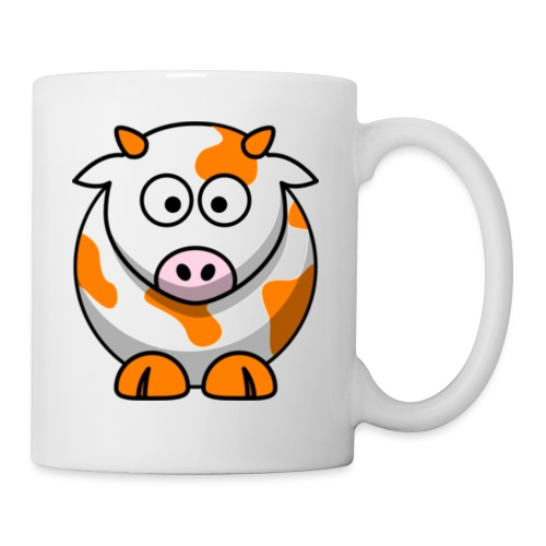 Orange Cow - Coffee/Tea Mug