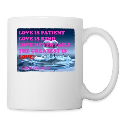 LOVE IS THE GREATEST - Coffee/Tea Mug