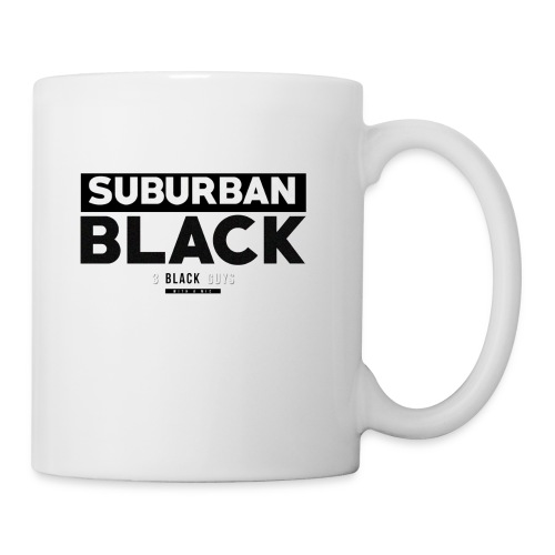 SUBURBAN BLACK - Coffee/Tea Mug