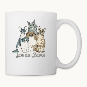 CATS - SENTIENT BEINGS - Carolyn Sandstrom - Coffee/Tea Mug