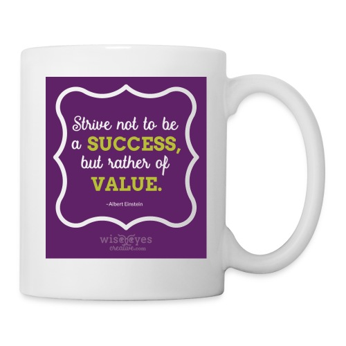Einstein Quote Mug #1 - Coffee/Tea Mug