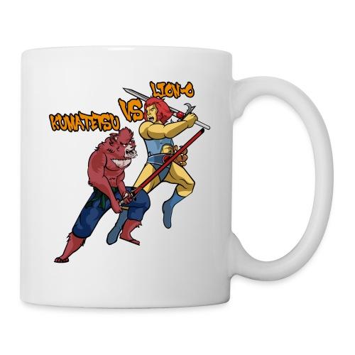 Kumatetsu VS Lion-o - Coffee/Tea Mug