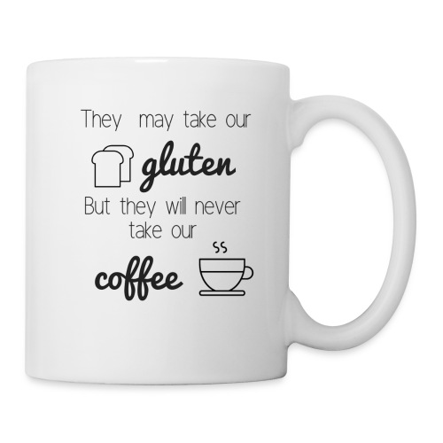 Gluten but not Coffee Script - Coffee/Tea Mug