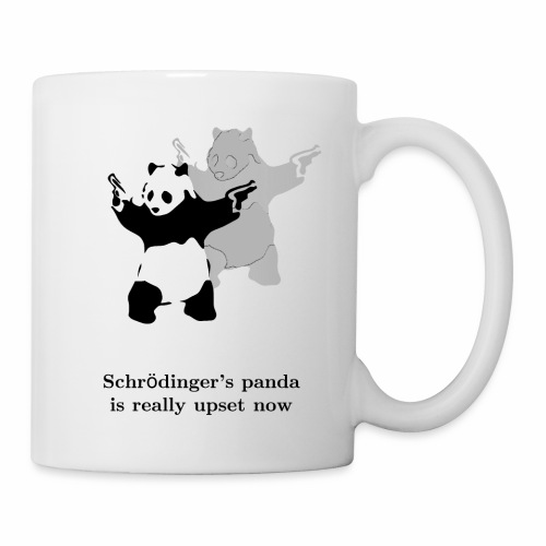 Schrödinger's panda is really upset now - Coffee/Tea Mug