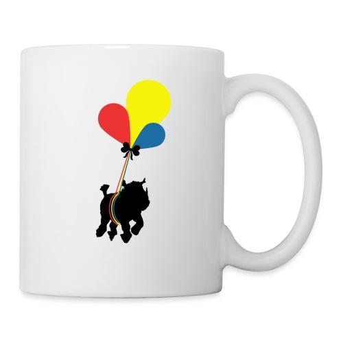 Rhinoceros in flight - Coffee/Tea Mug