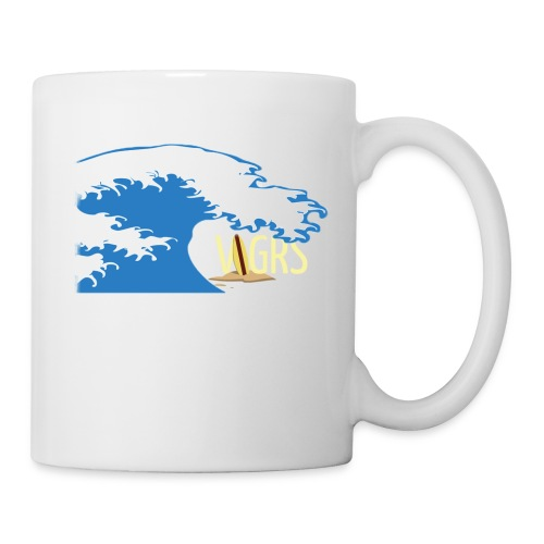 surfboard logo - Coffee/Tea Mug