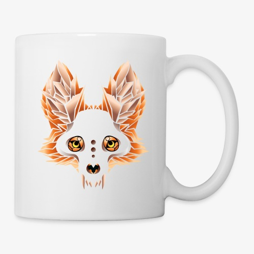 fox skull - Coffee/Tea Mug