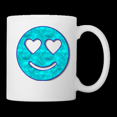Smiley Love-Blue - Coffee/Tea Mug