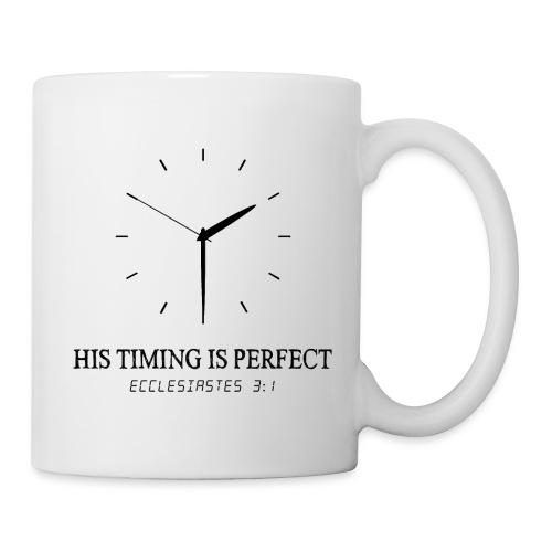 God's timing is perfect - Ecclesiastes 3:1 shirt - Coffee/Tea Mug