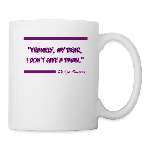 FRANKLY MY DEAR PURPLE - Coffee/Tea Mug