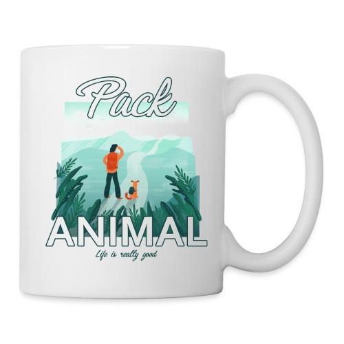 Life Is Really Good Pack Animal - Coffee/Tea Mug