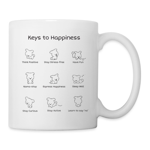 Keys to Happiness - Coffee/Tea Mug