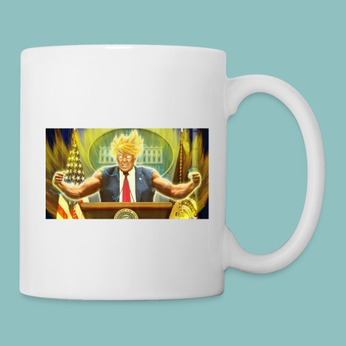 Donald Trump goes Super Saiyan - Coffee/Tea Mug