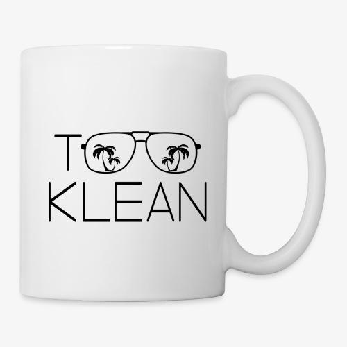 TOO KLEAN BLACK LOGO - Coffee/Tea Mug