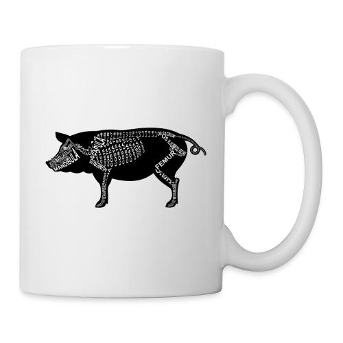 Skeleton Pig - Coffee/Tea Mug